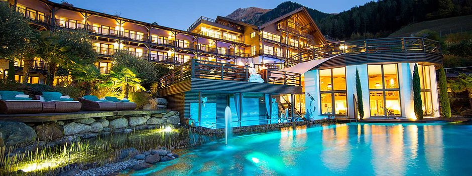 Golf & Spa Resort Andreus ***** St. Leonhard Meran, Südtirol - Golfhotel, Wellness- & Spa-Hotel