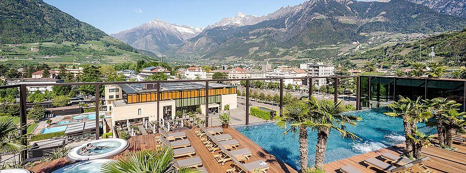 Best of hotels s dtirol portal f r die besten 4 sterne for Designhotel meran umgebung